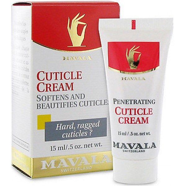 کرم ترمیم کننده و نرم کننده کوتیکول ناخن ماوالا مدل Cuticle Cream حجم 15 میلی لیتر