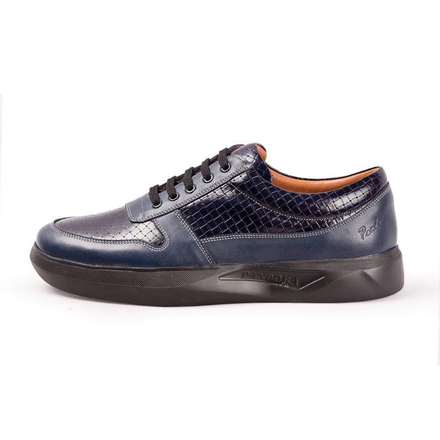کفش مردانه پاندورا مدل m2404 سرمه ای