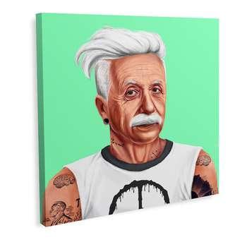 تابلو بوم تیداکس مدل آلبرت اینشتین کد TiA043