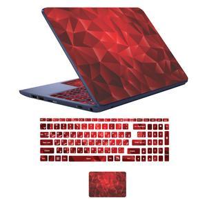 استیکر لپ تاپ کد fnt-stic 06 به همراه برچسب حروف فارسی کیبورد