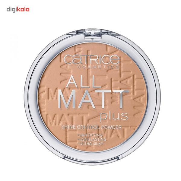 قیمت پنکیک بژ تیره کاتریس مدل All Matt Plus Shine Control Powder 030