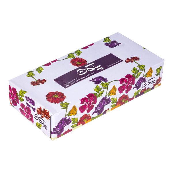 دستمال کاغذی 100 برگ پاکان مدل Nasim