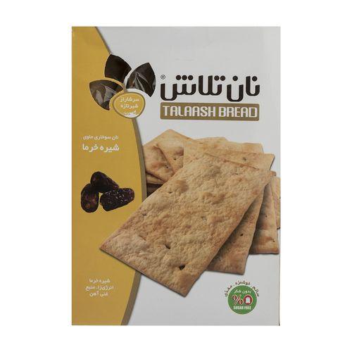 نان سوخاری حاوی شیره خرما تلاش مقدار 400 گرم