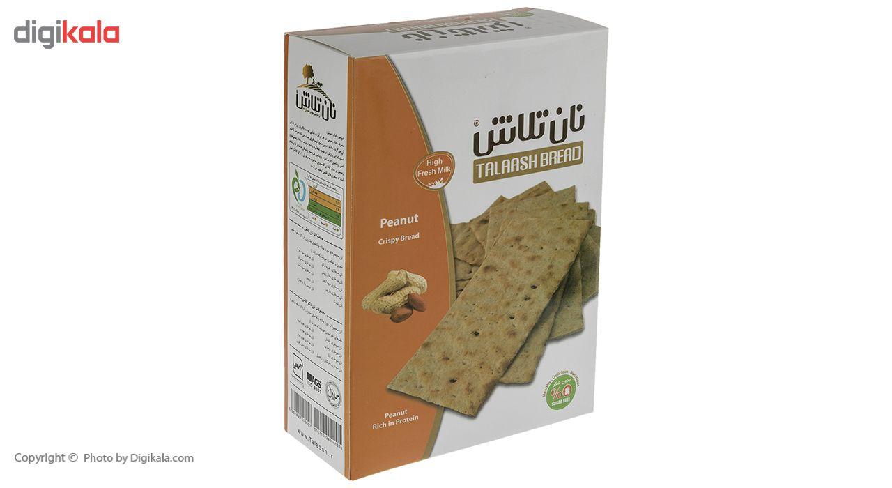 نان سوخاری حاوی بادام زمینی تلاش مقدار 400 گرم main 1 2