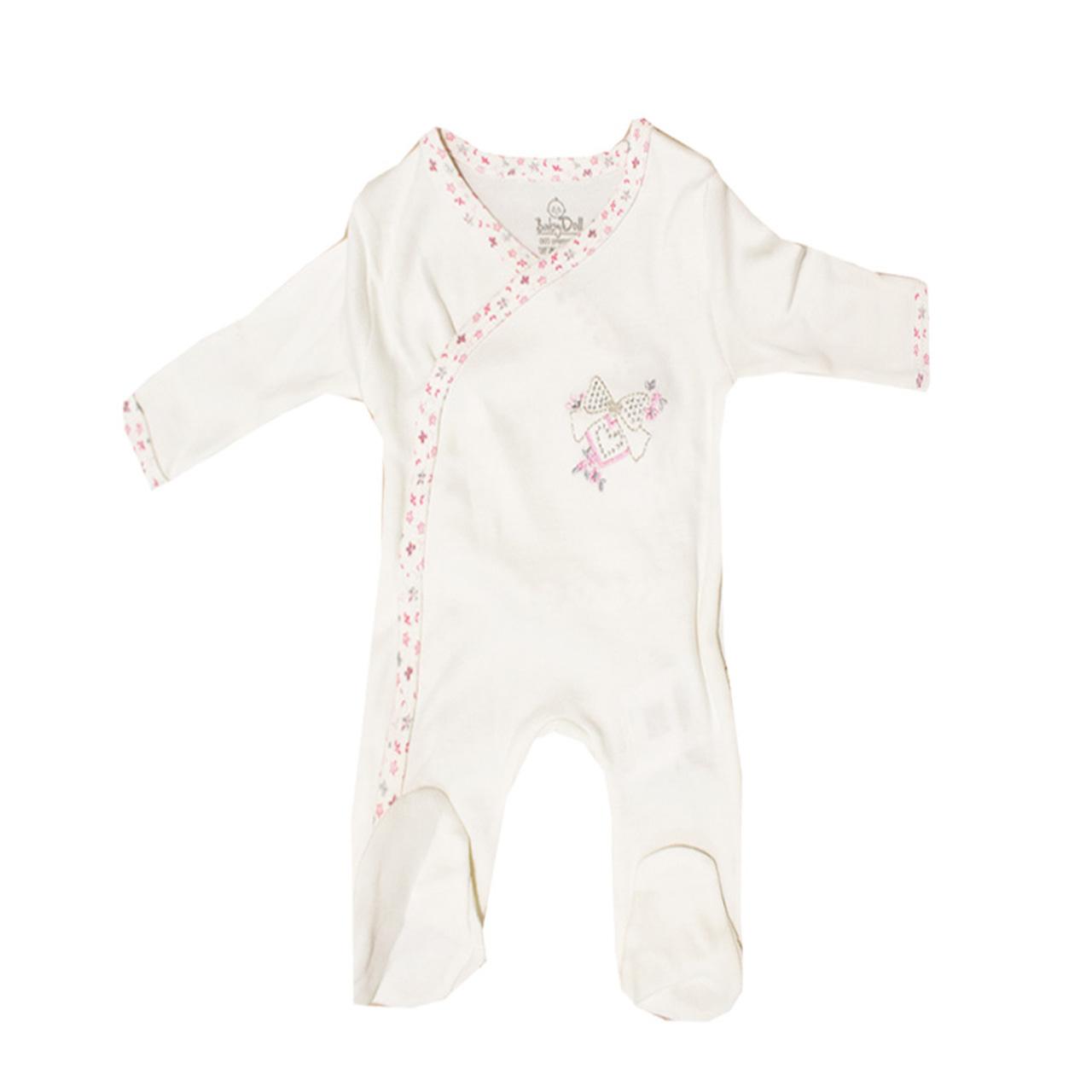 لباس سرهمی بیبی دال مدل 4833 White