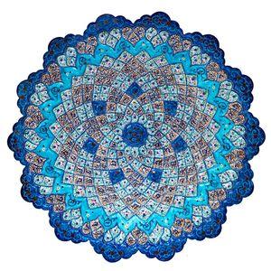 بشقاب میناکاری مسی رستا طرح 310-15-102 قطر 30 سانتی متر