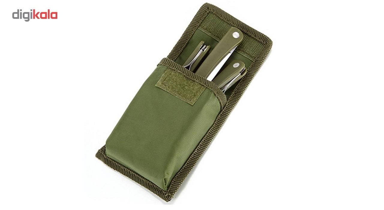 ست قاشق، چنگال و چاقوی کوهنوردی مدل camm main 1 2