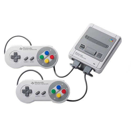 مجموعه کنسول بازی نینتندو کلاسیک مینی مدل Super Famicom