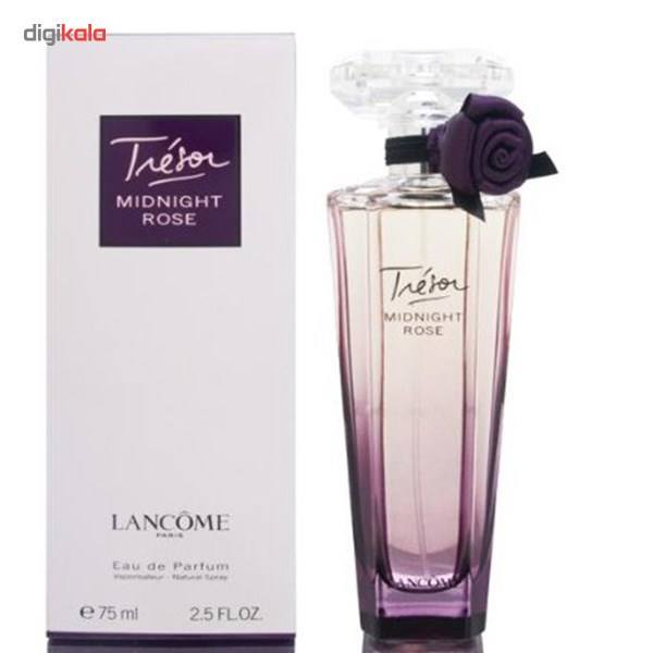 ادو پرفیوم زنانه لانکوم مدل Tresor Midnight Rose حجم 75 میلی لیتر  Lancome Tresor Midnight Rose Ea