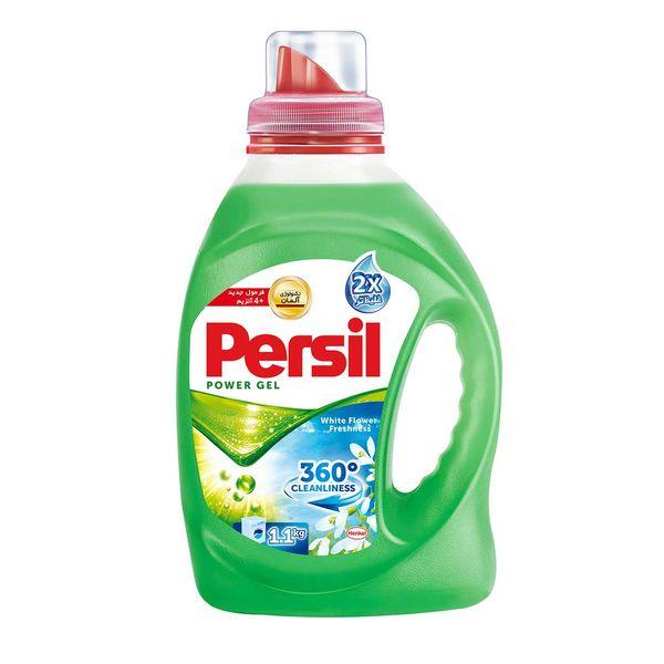 مایع لباسشویی پرسیل سری 360 Cleanliness مدل Wight Flower حجم 1.1 لیتر | Persil 360 Cleanliness White Flower Washing Machine Liquid 1.1L