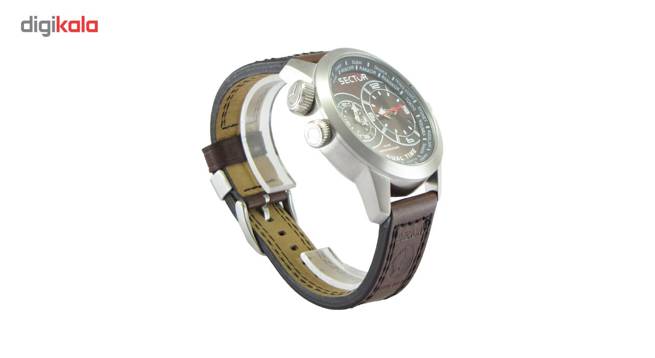 ساعت مچی عقربه ای مردانه سکتور مدل 3251102055