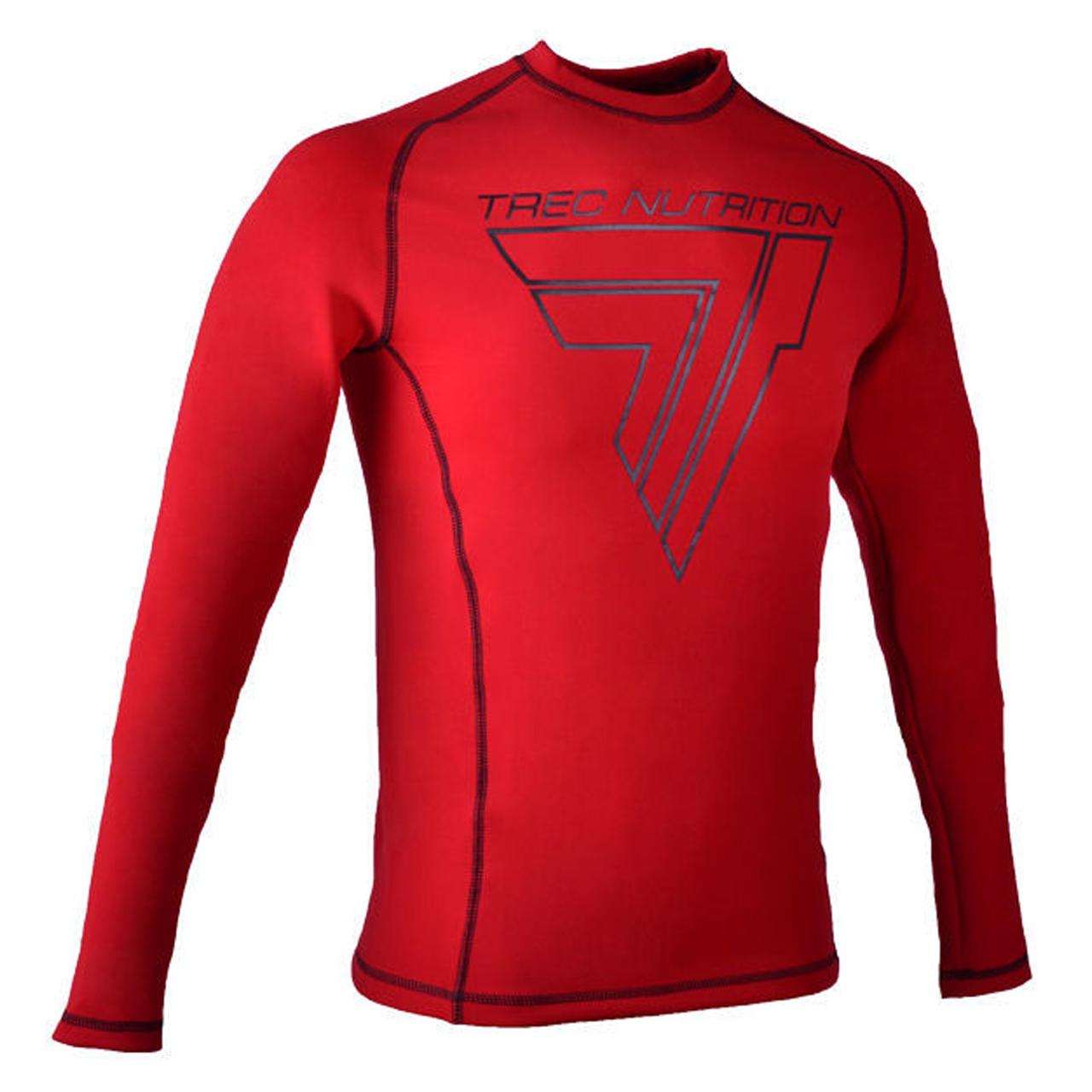 تی شرت آستین بلند ورزشی مردانه ترک ویر مدل Rash 004 Red
