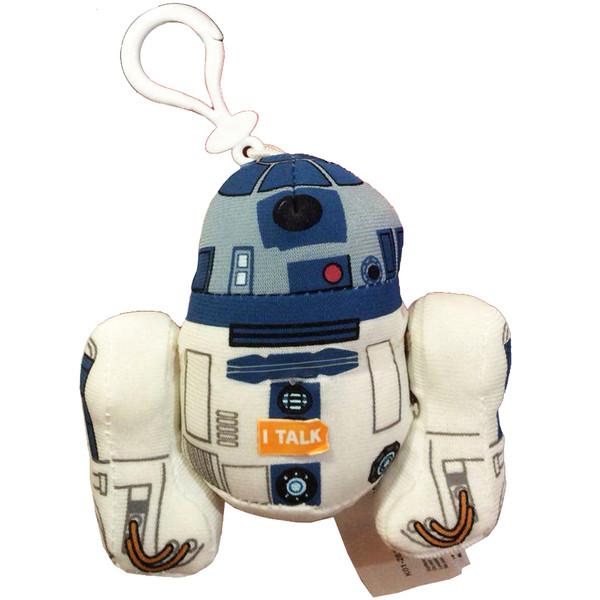 عروسک پولیشی آندرگراند تویز مدل R2D2 Talking Plush Clip-on ارتفاع 17 سانتی متر