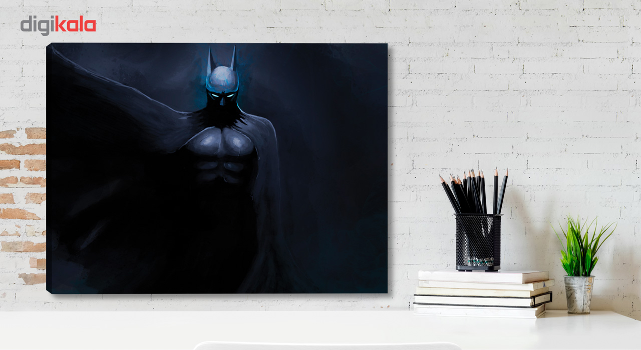 تابلو بوم وی وین آرت کد 161 طرح Batman