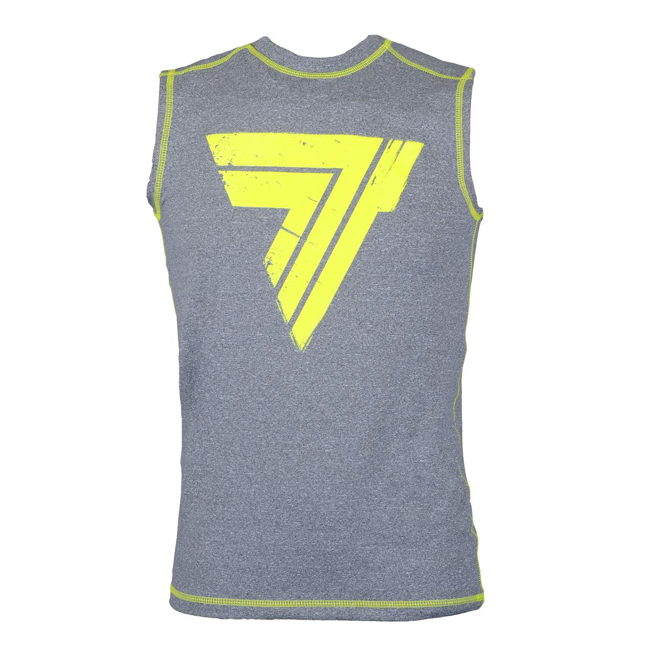 تی شرت آستین حلقه ای ورزشی مردانه ترک ویر مدل Rash 008 Gray Sleeveless