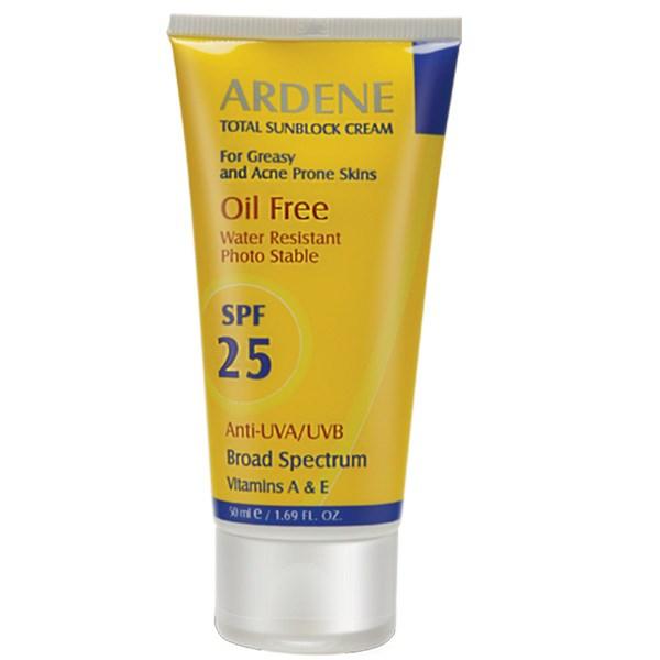 قیمت کرم ضد آفتاب آردن SPF25