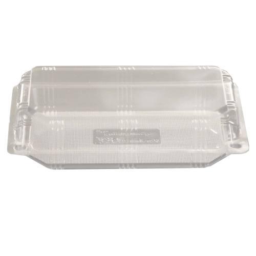 ظرف غذا یکبار مصرف طلقی طرح لانچ باکس بلند بسته 20 عددی