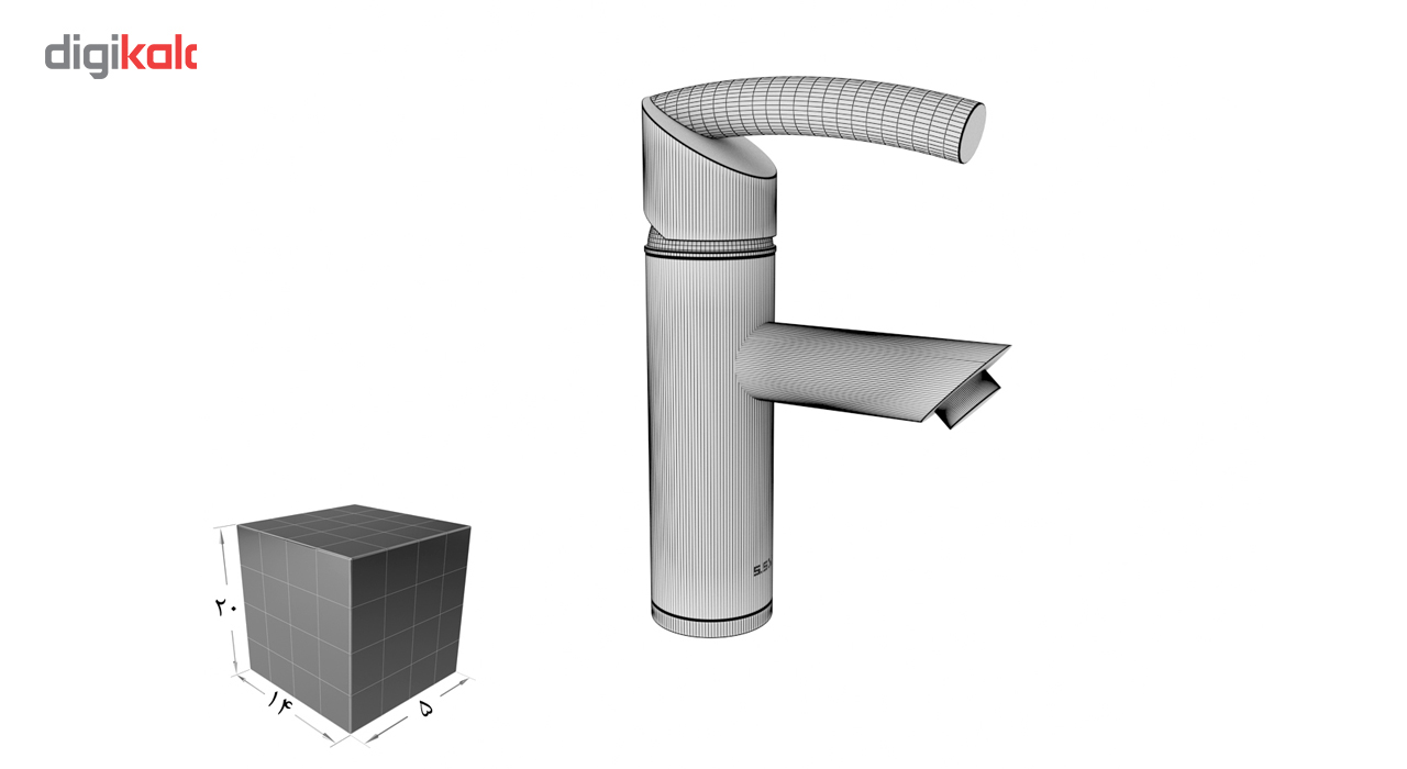 شیر روشویی اس اس وی مدل توماس