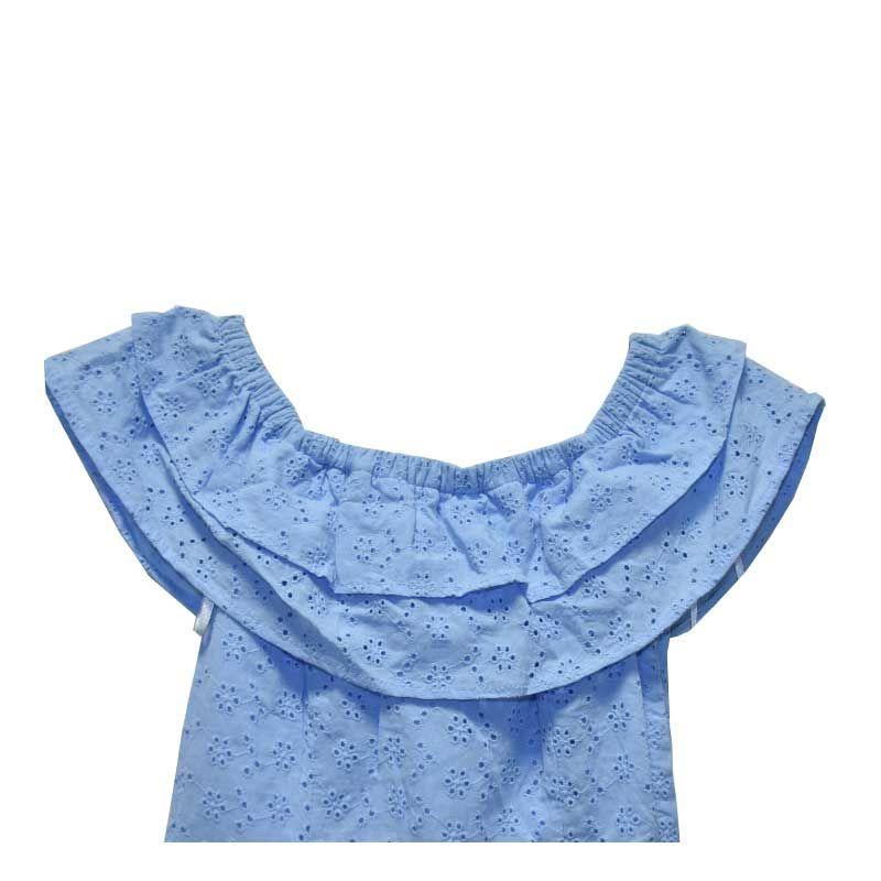 پیراهن دخترانه دیوایدد مدل F1-05002241001 -  - 4