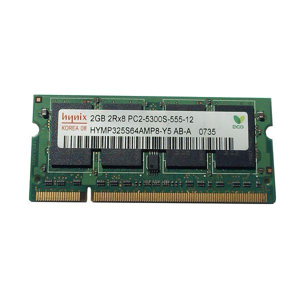 رم لپ تاپ هاینیکس مدل DDR2 PC2 5300S ظرفیت 2 گیگابایت |