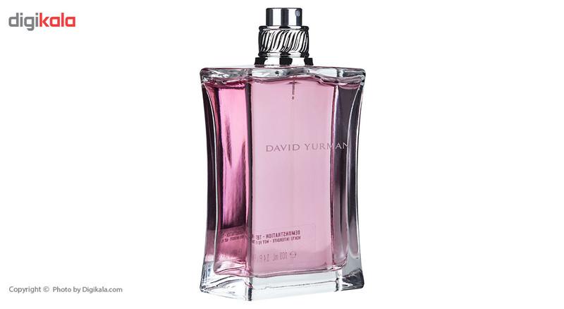 تستر ادو تویلت زنانه دیوید یورمن مدل Delicate Essence حجم 100 میلی لیتر