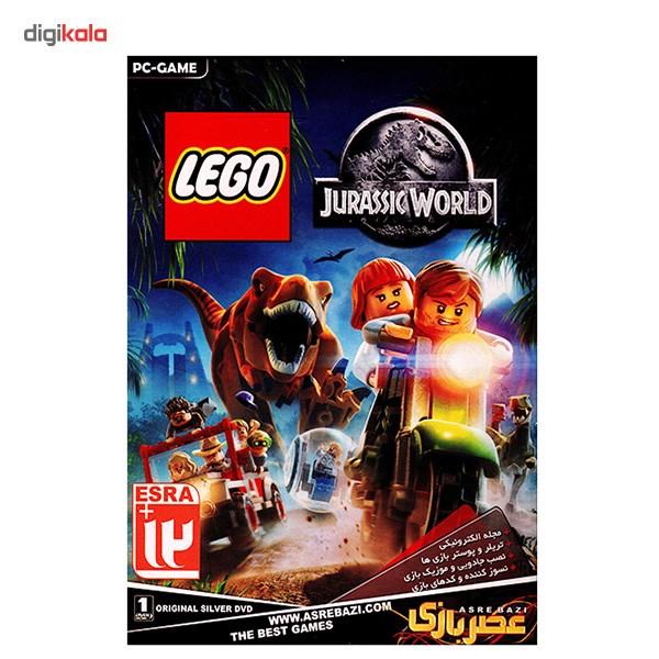 بازی کامپیوتری عصر بازی لگو دنیای ژوراسیک