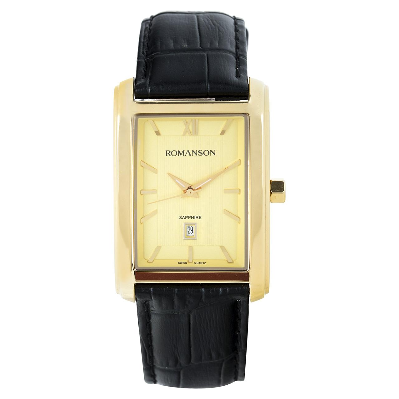 ساعت مچی عقربه ای مردانه رومانسون مدل TL2625MM1GA81G