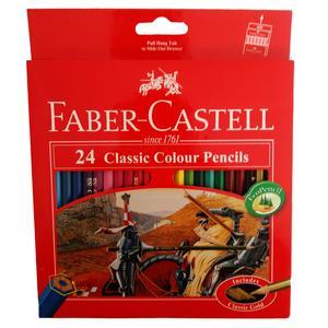 مداد رنگی 24 رنگ فابر کاستل مدل Classic
