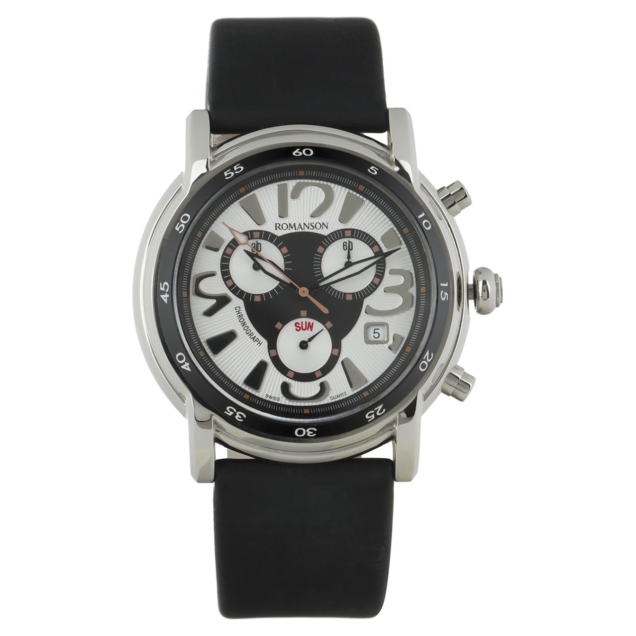ساعت مچی عقربه ای مردانه رومانسون مدل TL7239HM1WAS2B