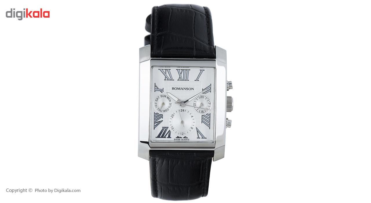 خرید ساعت مچی عقربه ای مردانه رومانسون مدل TL0342BM1WA12W
