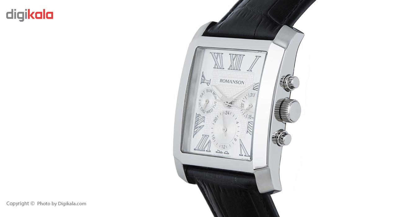 ساعت مچی عقربه ای مردانه رومانسون مدل TL0342BM1WA12W