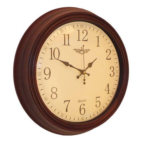 ساعت دیواری طرح چوب مدل 234
