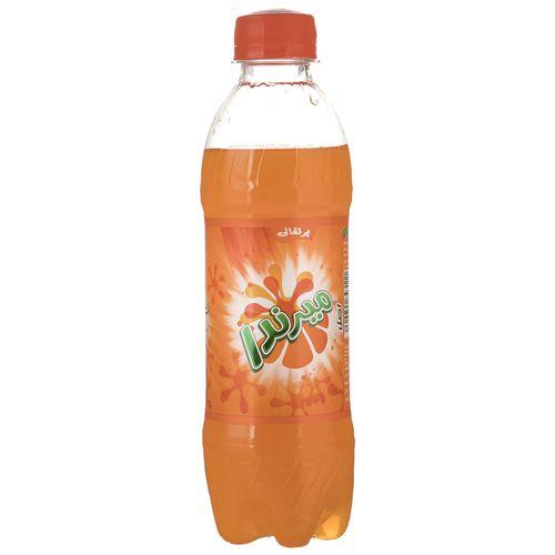 نوشابه گاز دار با طعم پرتقالی میرندا مقدار 0.3 لیتر