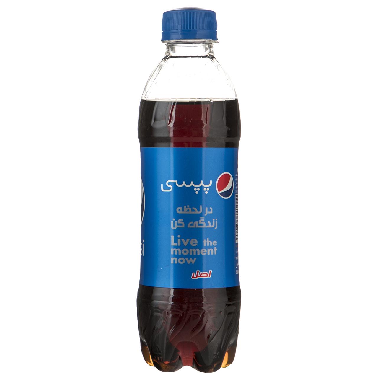 نوشابه گازدار پپسی با طعم کولا - 300 میلی لیتر