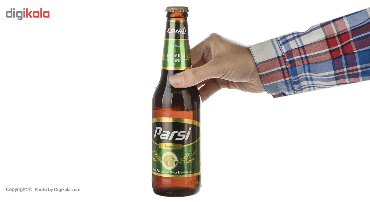 نوشیدنی مالت بدون الکل با طعم لیمویی پارسی مقدار 0.33 لیتر main 1 5