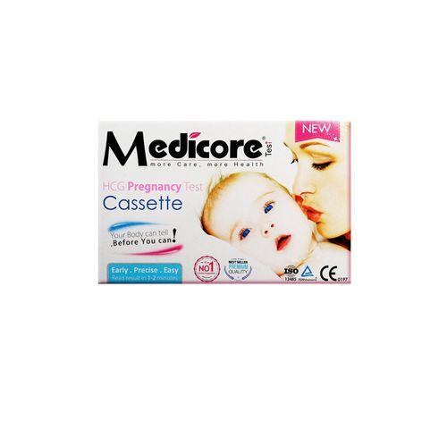 تست بارداری بی بی چک Medicore مدل Cassette ۹۹.۸٪