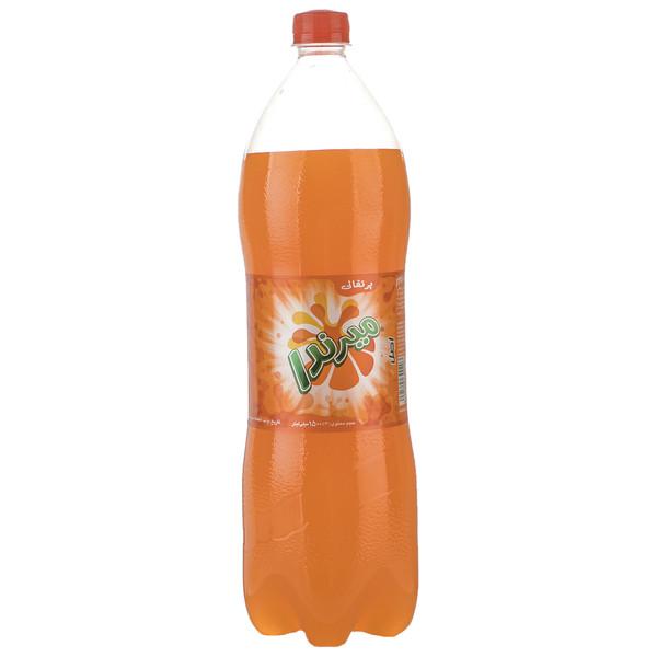 نوشابه گاز دار با طعم پرتقالی میرندا - 1.5 لیتر