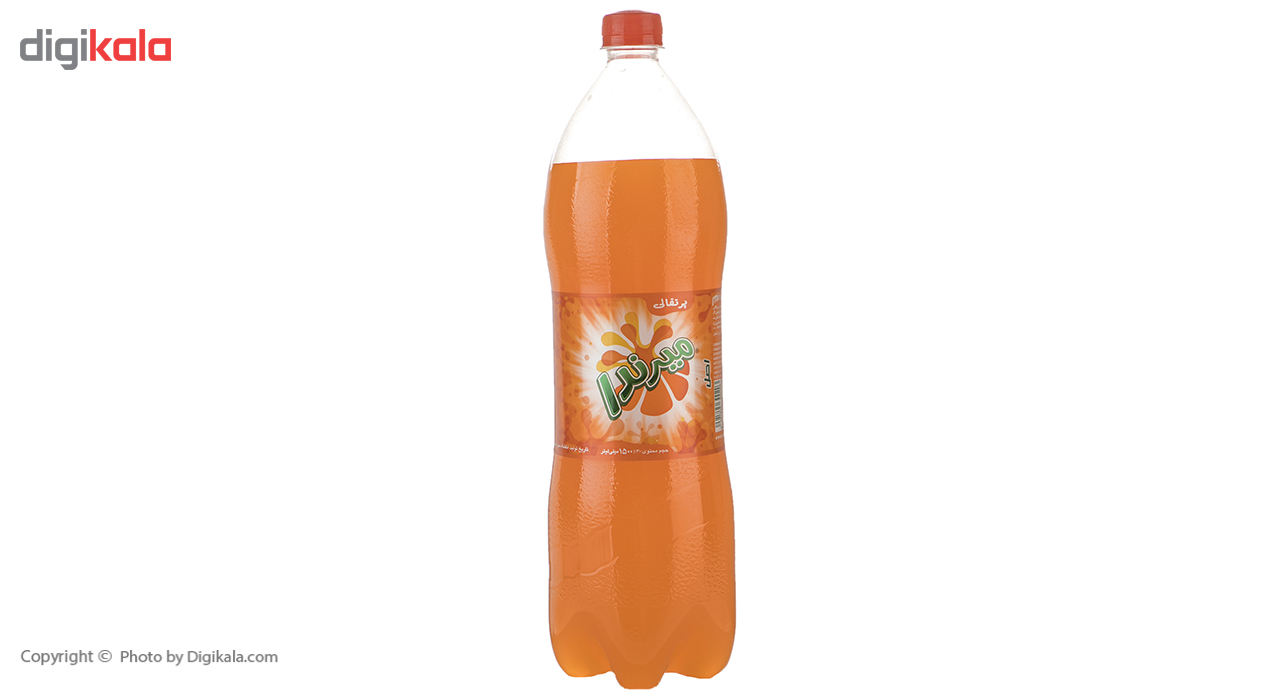 نوشابه گاز دار با طعم پرتقالی میرندا - 1.5 لیتر main 1 2