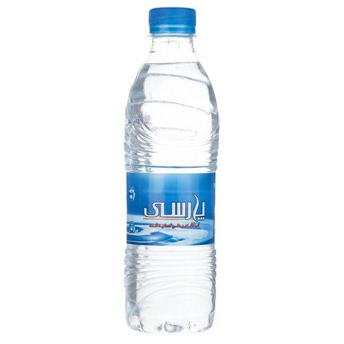 آب آشامیدنی تصفیه شده پارسی مقدار 0.5 لیتر بسته 12 عددی