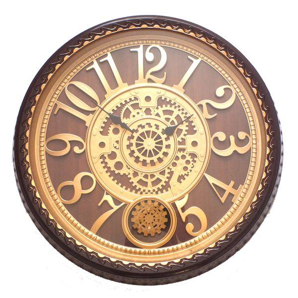 ساعت دیواری چرخ دنده متحرک مدل 531