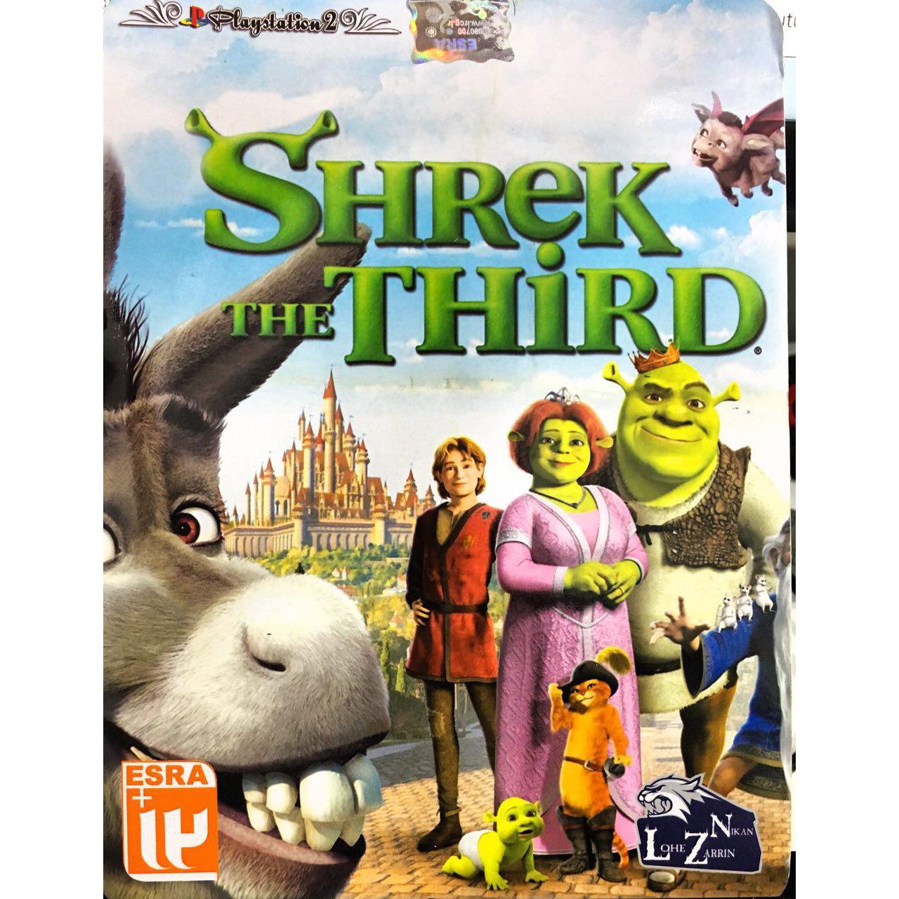 بررسی و {خرید با تخفیف}                                     بازی SHREK THE THIRD مخصوص پلی استیشن 2                             اصل