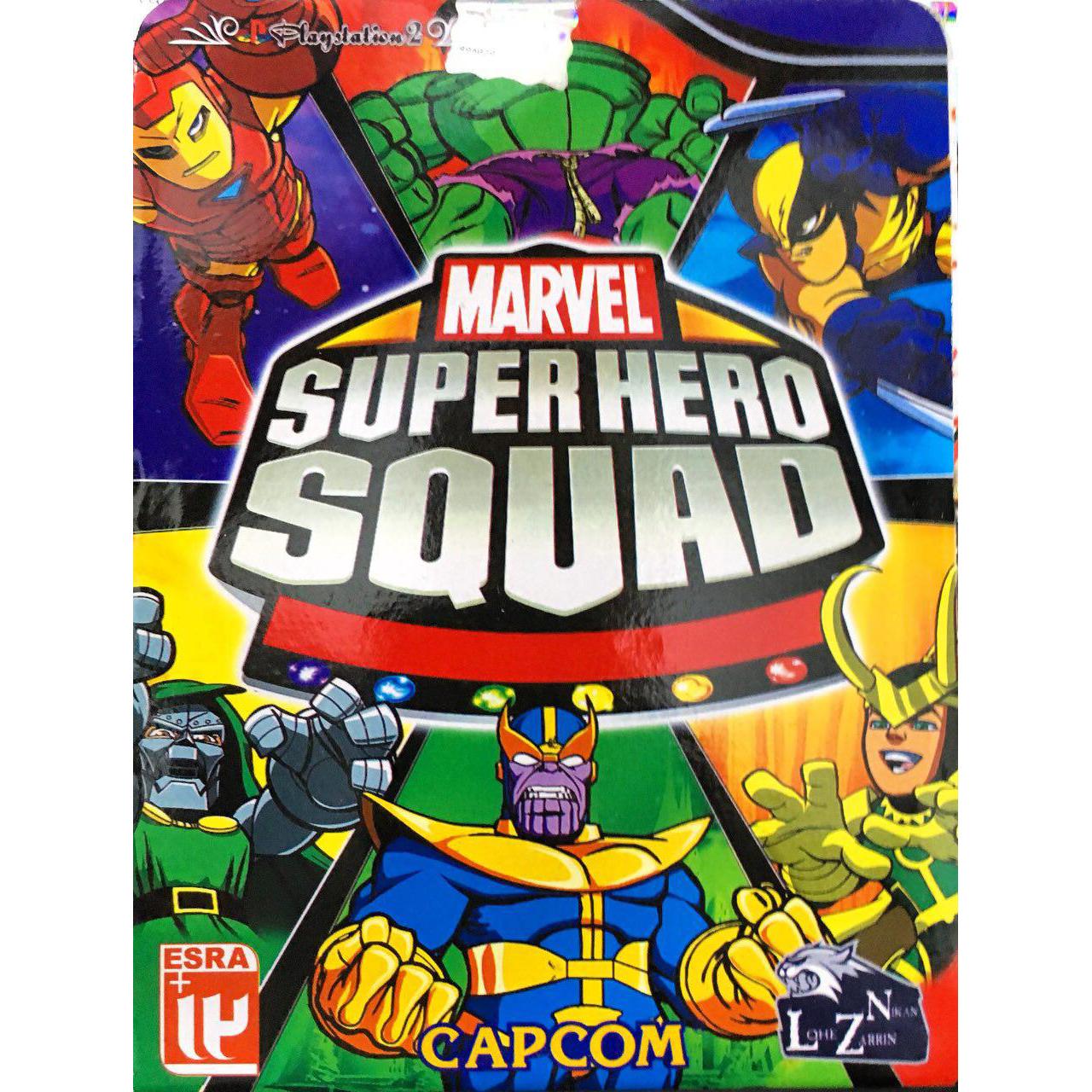 بازی  MARVEL SUPER HERO SQUAD مخصوص پلی استیشن 2
