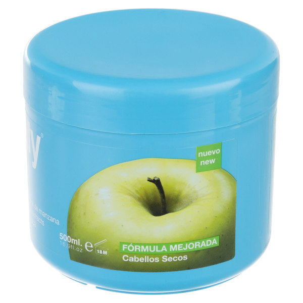 ماسک مو نلی مدل Green Apple حجم 500 میلی لیتر