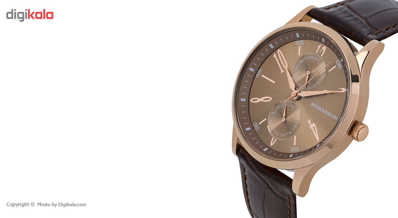 ساعت مچی عقربه ای مردانه رومانسون مدل TL2648BM1RAB6R