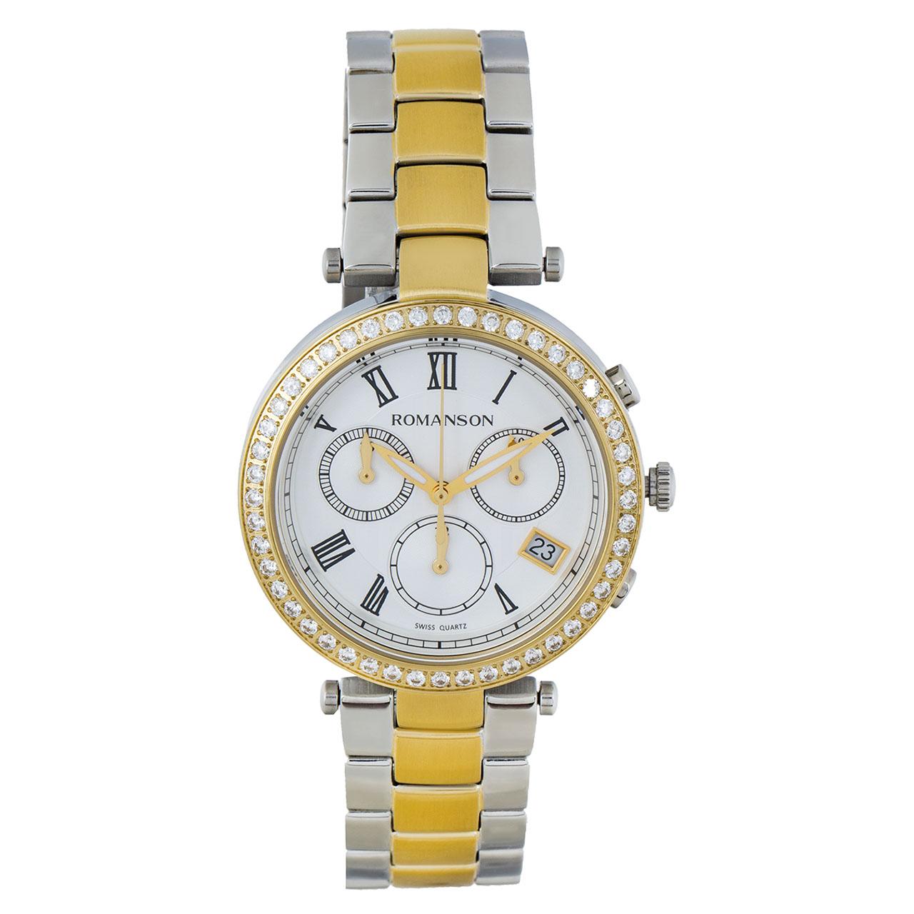 ساعت مچی عقربه ای زنانه رومانسون مدل RM6A02HLCCASR5 23