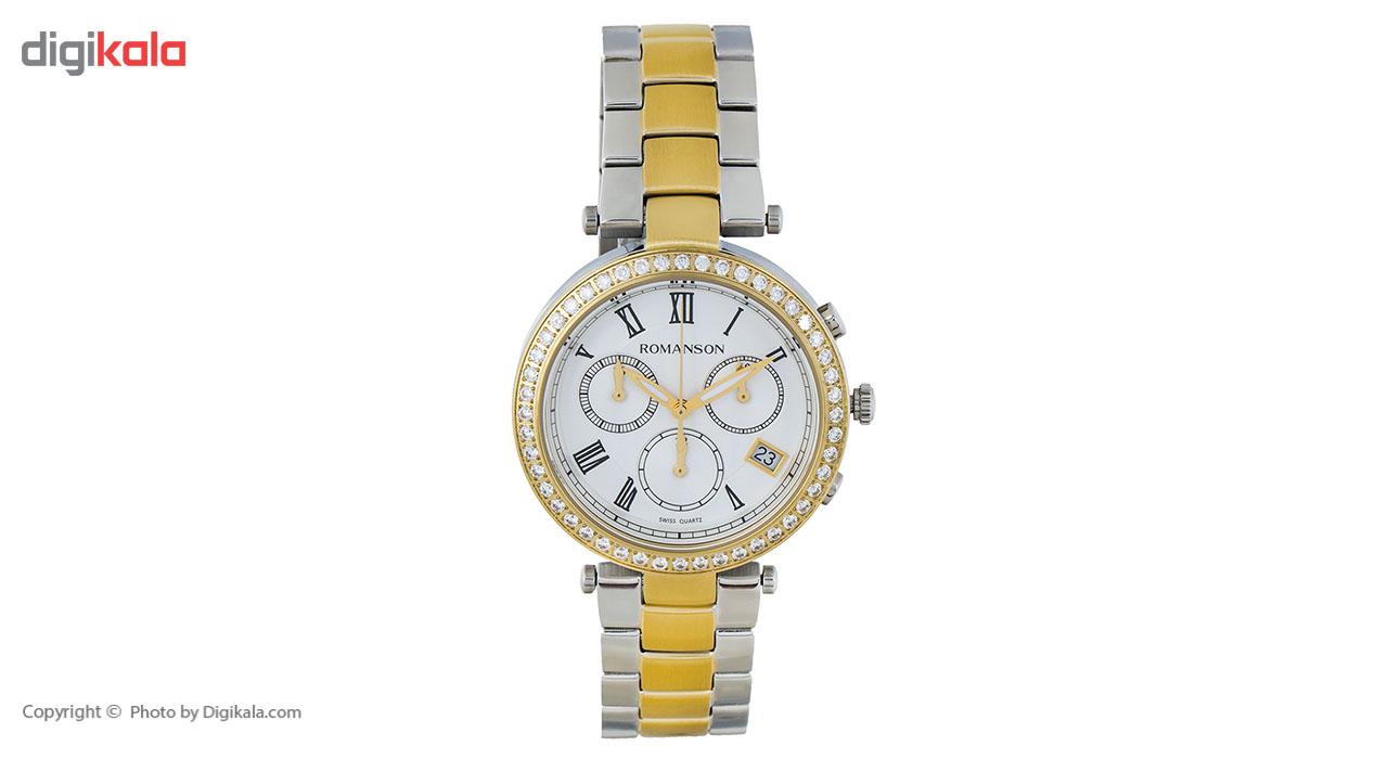 ساعت مچی عقربه ای زنانه رومانسون مدل RM6A02HLCCASR5