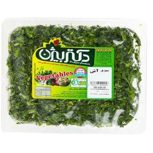 سبزی آش منجمد دکتر بیژن مقدار 400 گرم