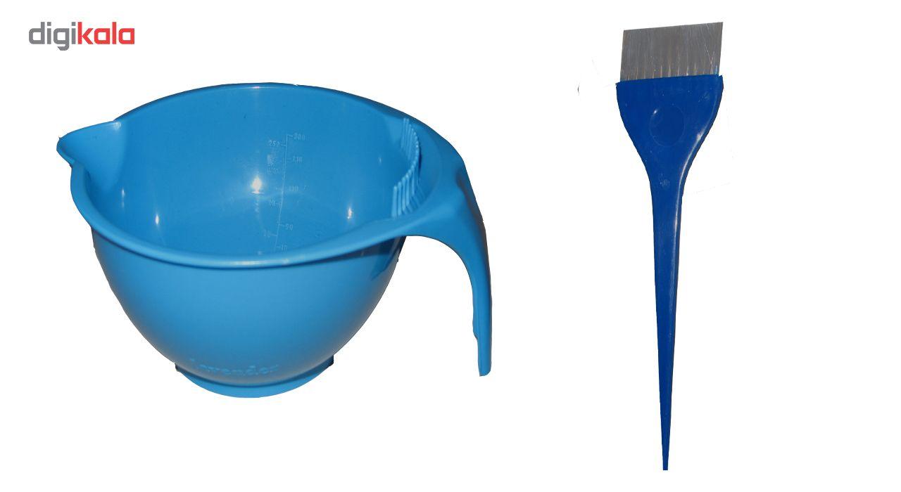 پک لوازم رنگ مو سلمک مدل 1