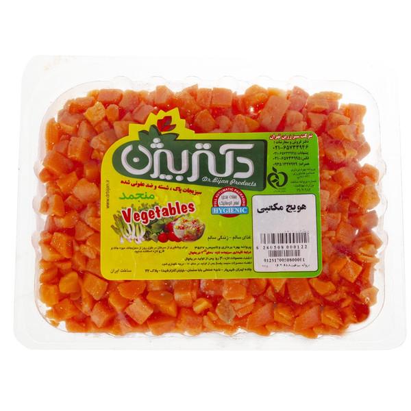 هویج مکعبی منجمد دکتر بیژن مقدار 380 گرم
