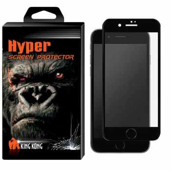 محافظ صفحه نمایش شیشه ای کینگ کونگ مدل Hyper Fullcover مناسب برای گوشی اپل آیفون 7Plus/8Plus